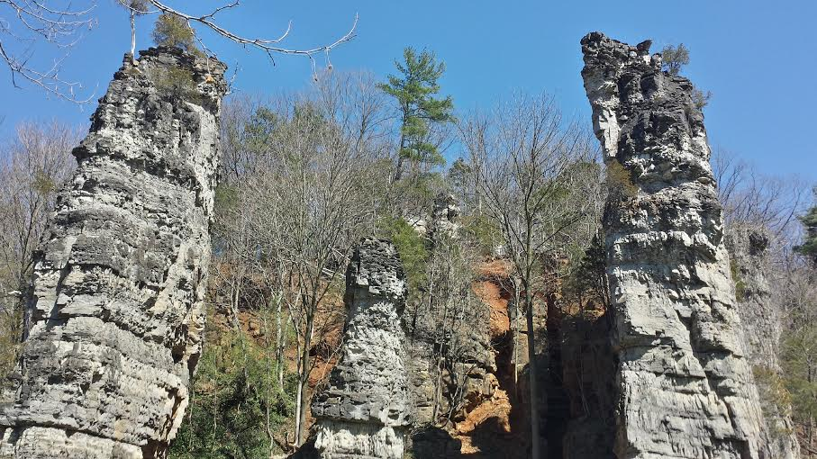 Natural Chimneys, Mt. Solon, VA